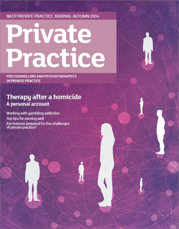 Cover of Private Practice, Autumn 2014