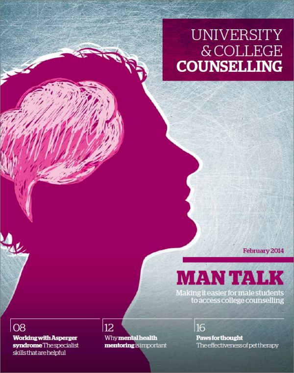 Cover of University and College Counselling, February 2014