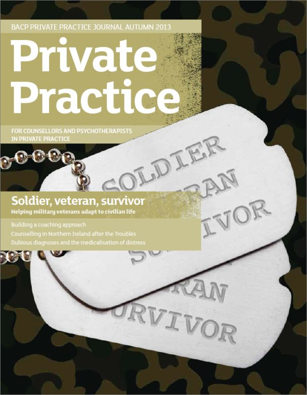Cover of Private Practice, Autumn 2013