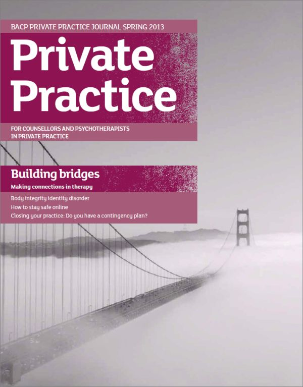 Cover of Private Practice, Spring 2013