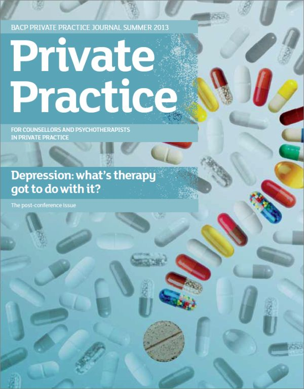 Cover of Private Practice, Summer 2013 issue
