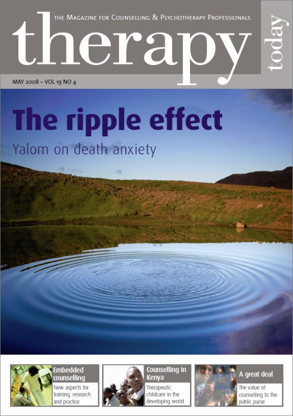 Cover of Therapy Today, May 2008