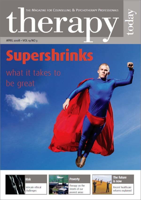 Cover of Therapy Today, April 2008
