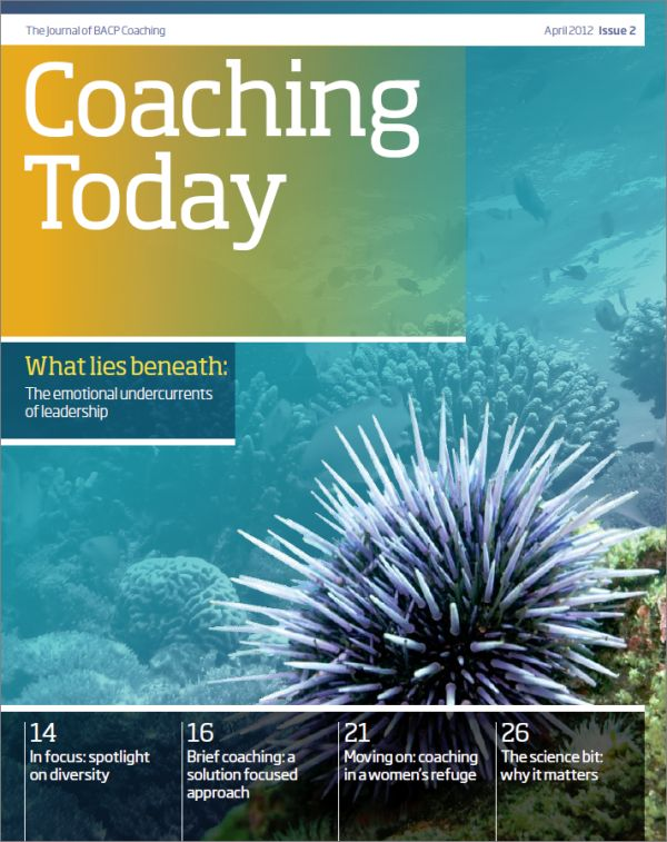 Cover of Coaching Today, April 2012