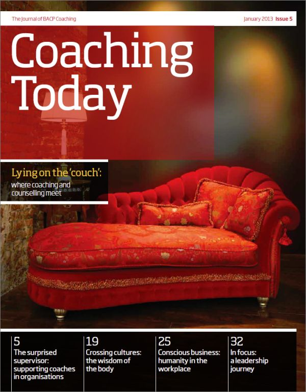Cover of Coaching Today, January 2013