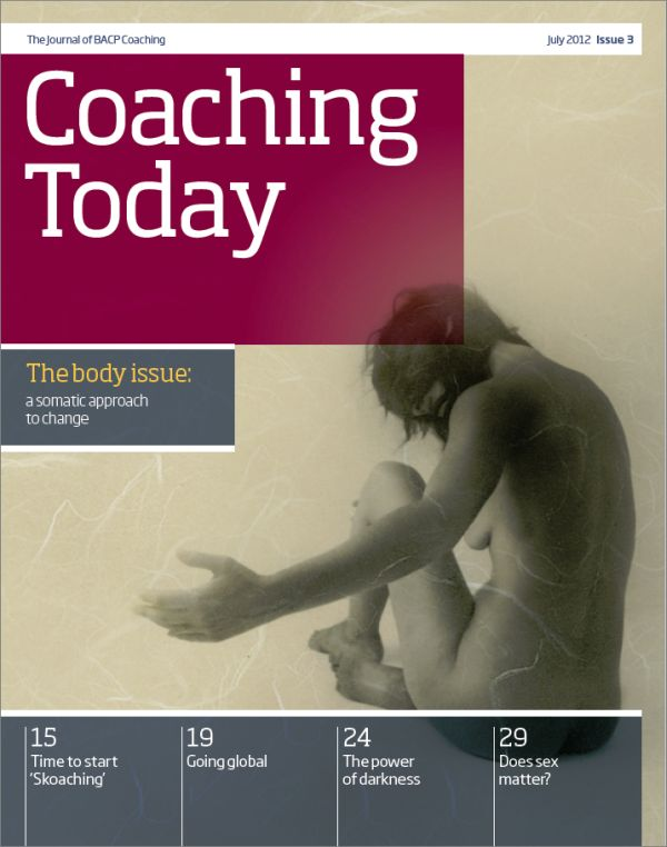 Cover of Coaching Today, July 2012
