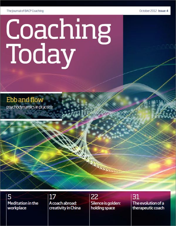 Cover of Coaching Today, October 2012