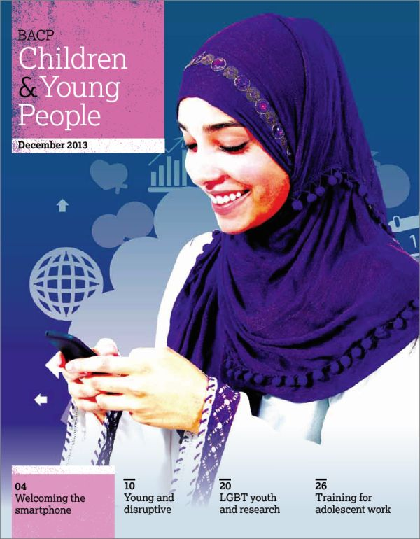 Cover of BACP Children and Young People, December 2013