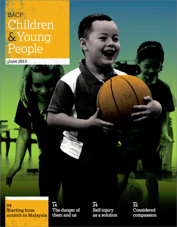 Cover of BACP Children and Young People, June 2013