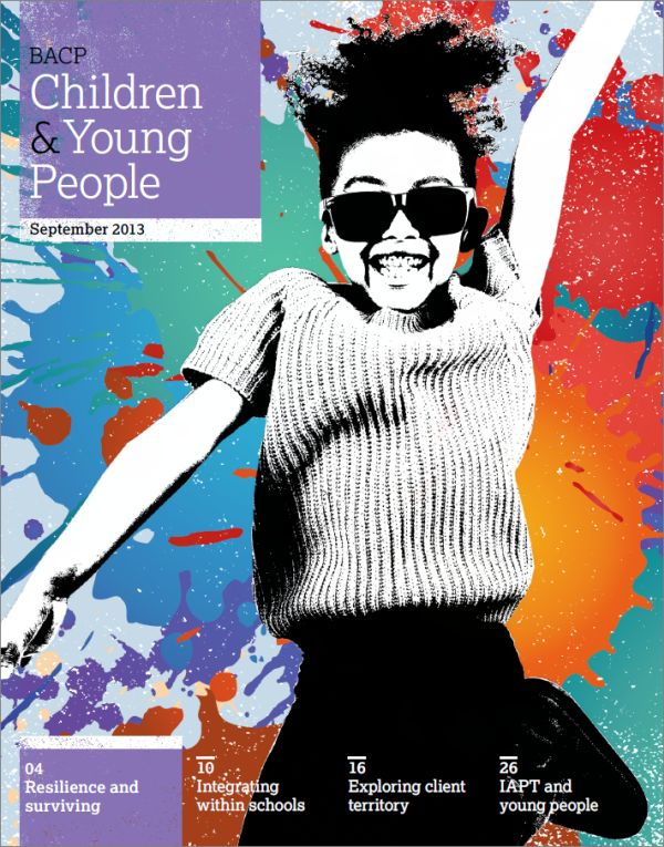 Cover of BACP Children and Young People, September 2013