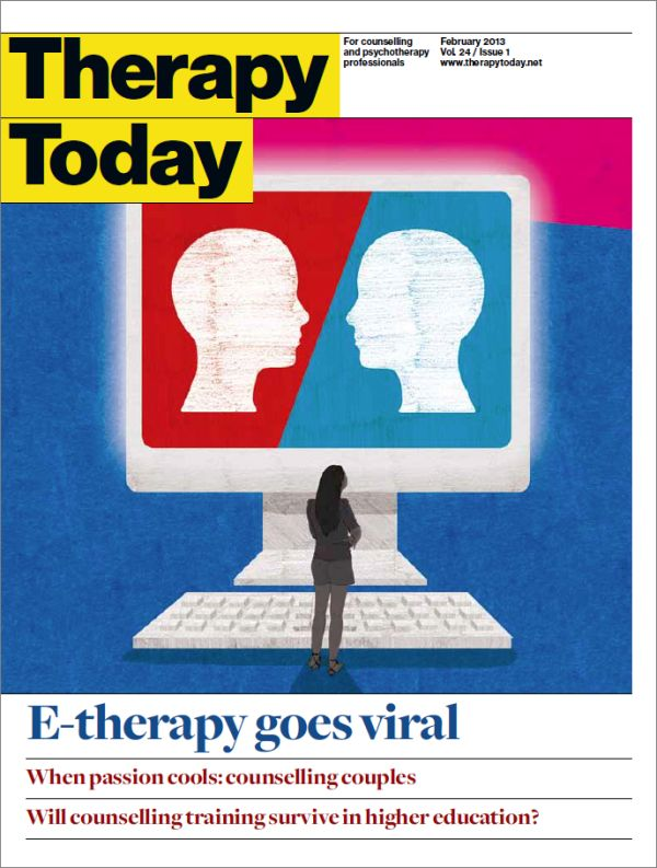Cover of Therapy Today, February 2013