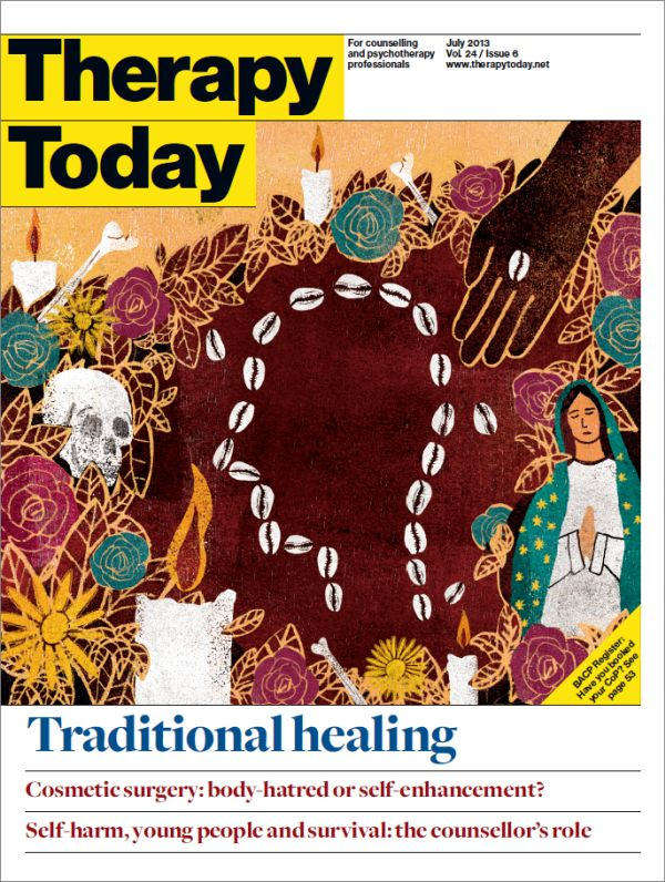 Cover of Therapy Today, July 2013