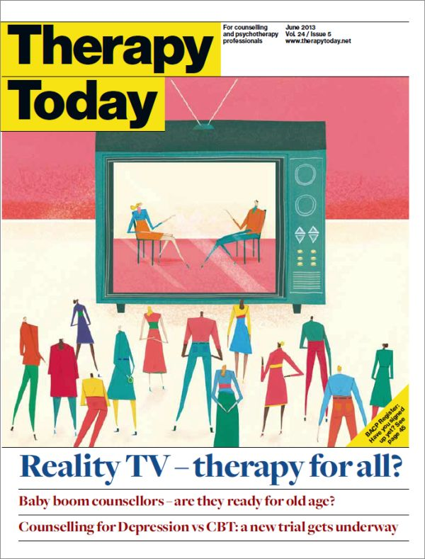 Cover of Therapy Today, June 2013 issue