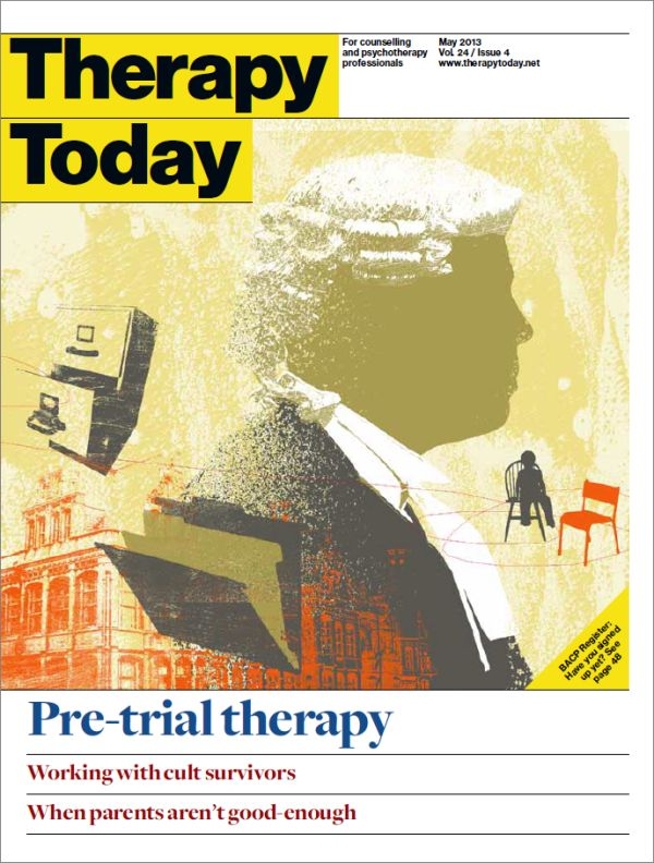 Cover of Therapy Today, May 2013