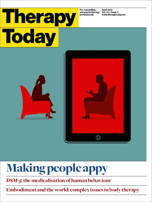 Cover of Therapy Today, April 2012