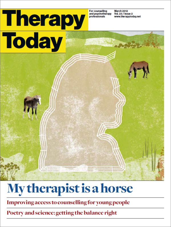 Cover of Therapy Today, March 2012
