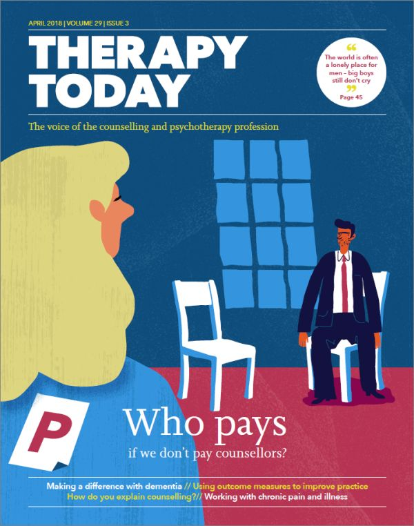 Cover of Therapy Today, April 2018