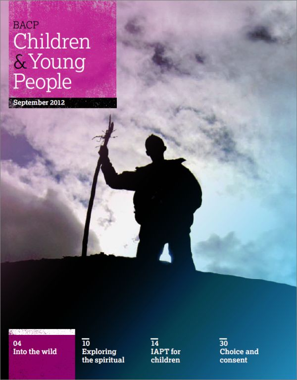 Cover of BACP Children and Young People, September 2012