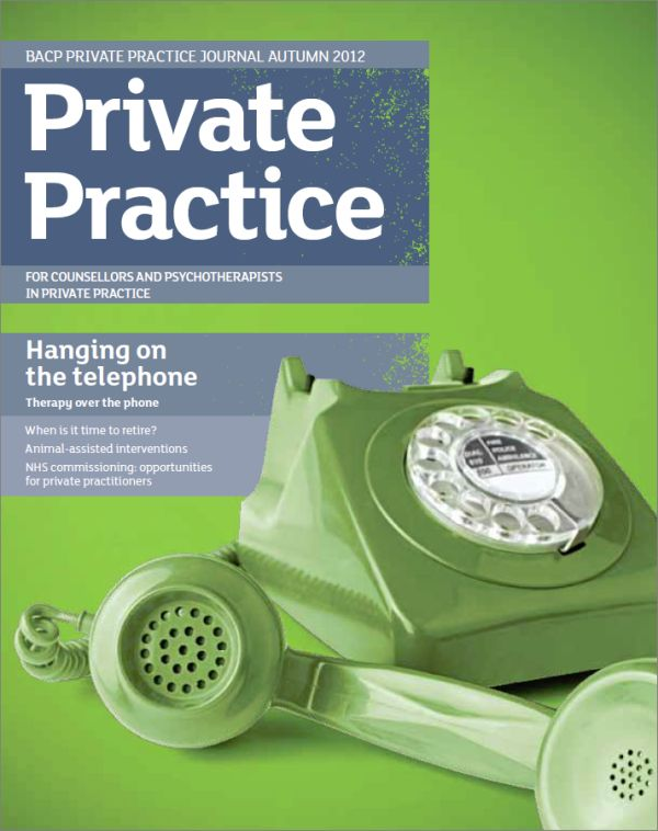 Cover of Private Practice, Autumn 2012