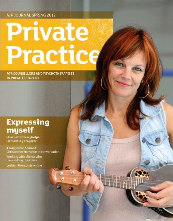Cover of Private Practice, Spring 2012