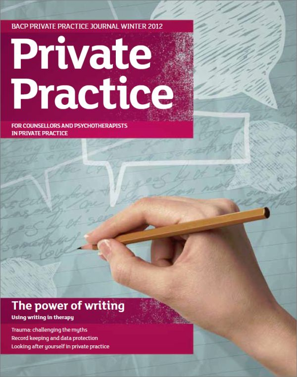 Cover of Private Practice, Winter 2012