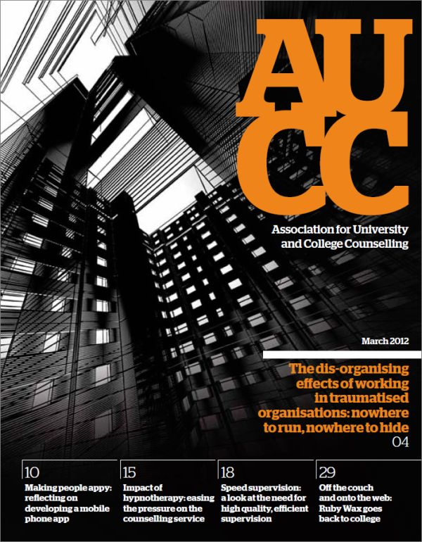 Cover of AUCC, March 2012 issue