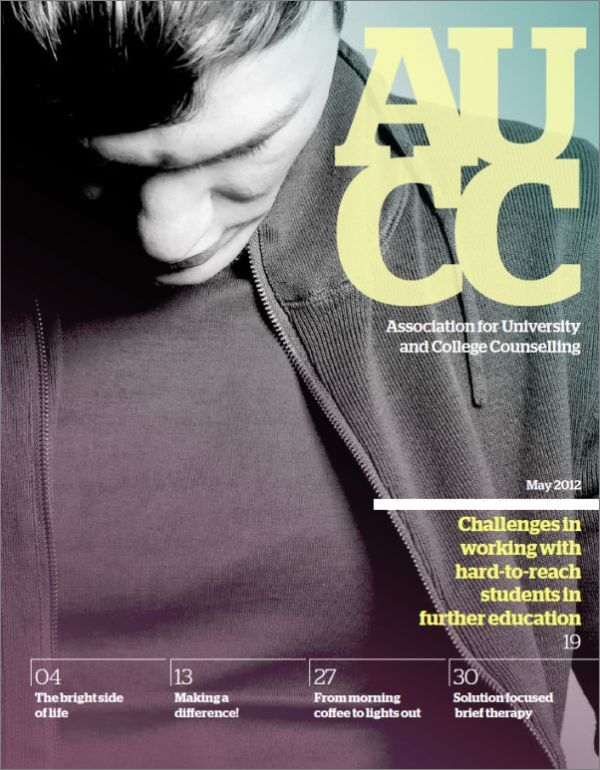 Cover of AUCC, May 2012