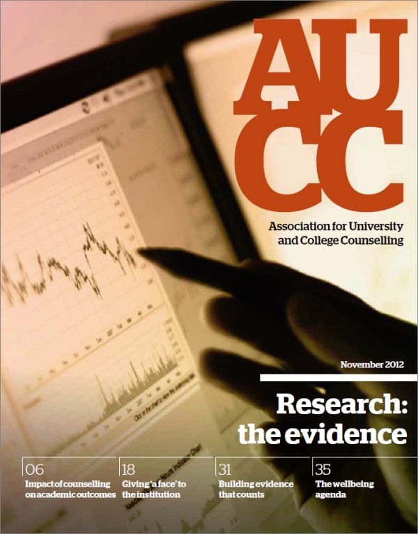 Cover of AUCC, November 2012