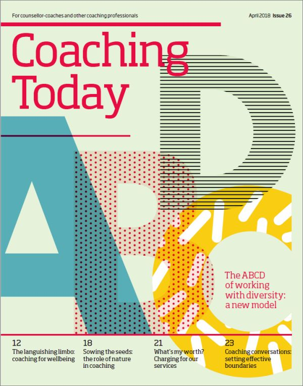 Cover of Coaching Today, April 2018