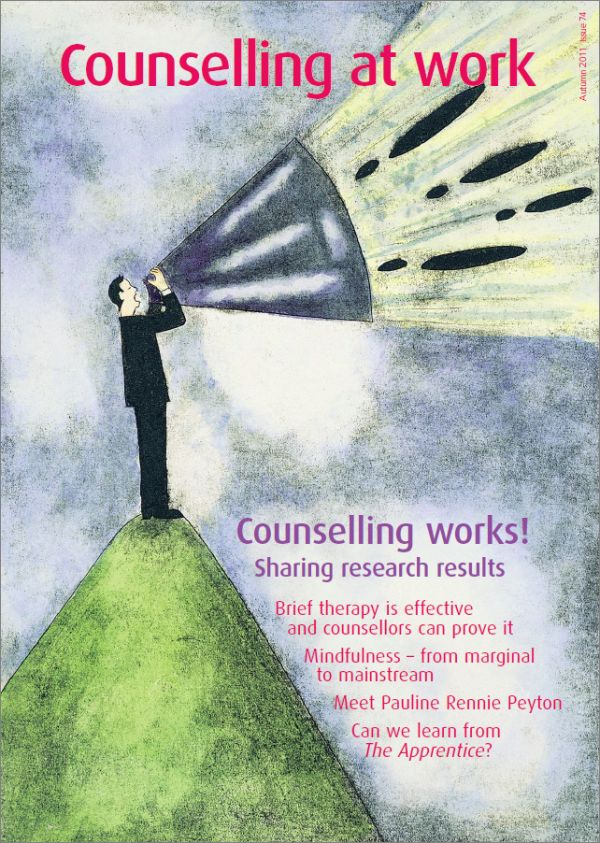 Cover of Counselling at Work, Autumn 2011