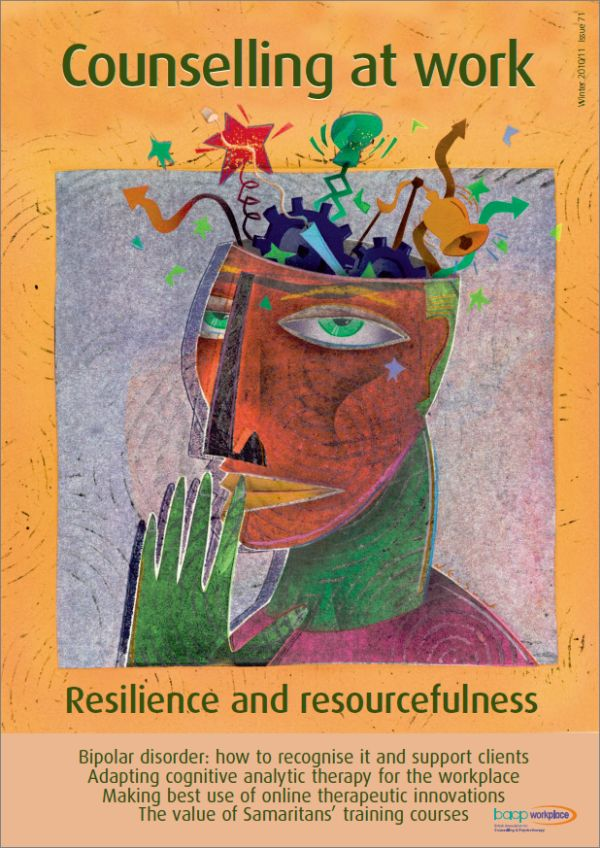 Cover of Counselling at Work, Winter 2010/11