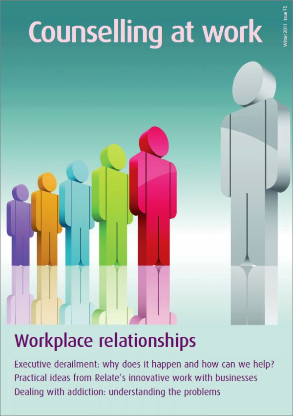 Cover of Counselling at Work, Winter 2011
