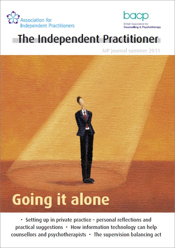 Cover of The Independent Practitioner Summer 2011
