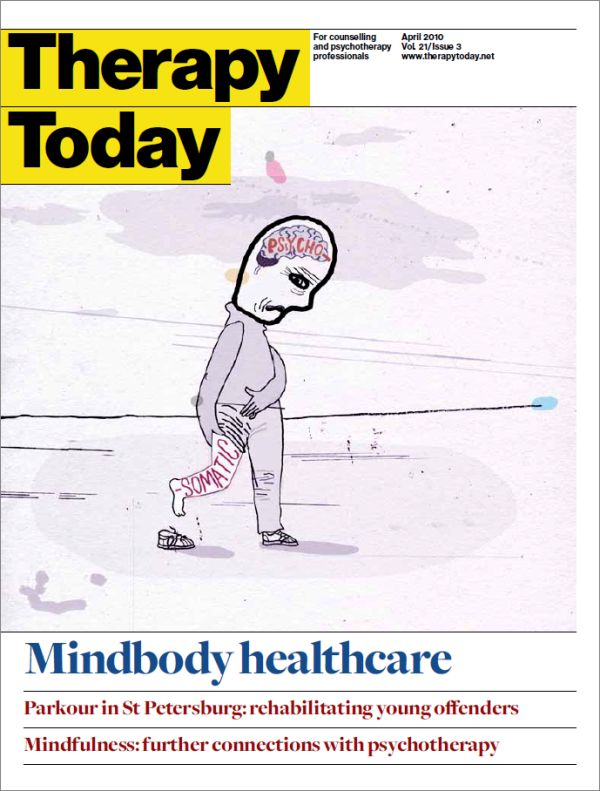 Cover of Therapy Today, April 2010