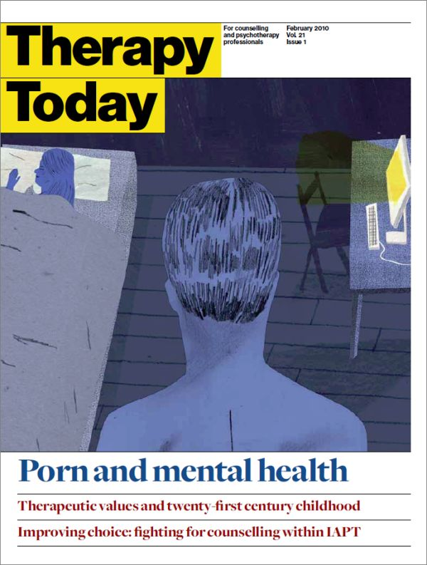 Cover of Therapy Today, February 2010