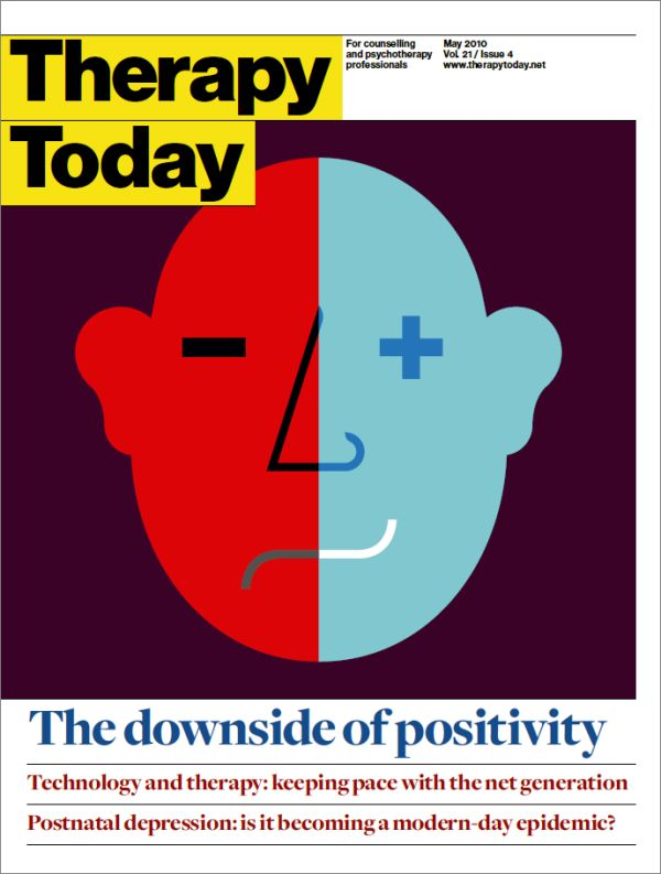 Cover of Therapy Today, May 2010