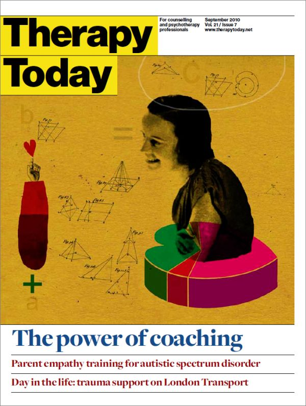 Cover of Therapy Today, September 2010