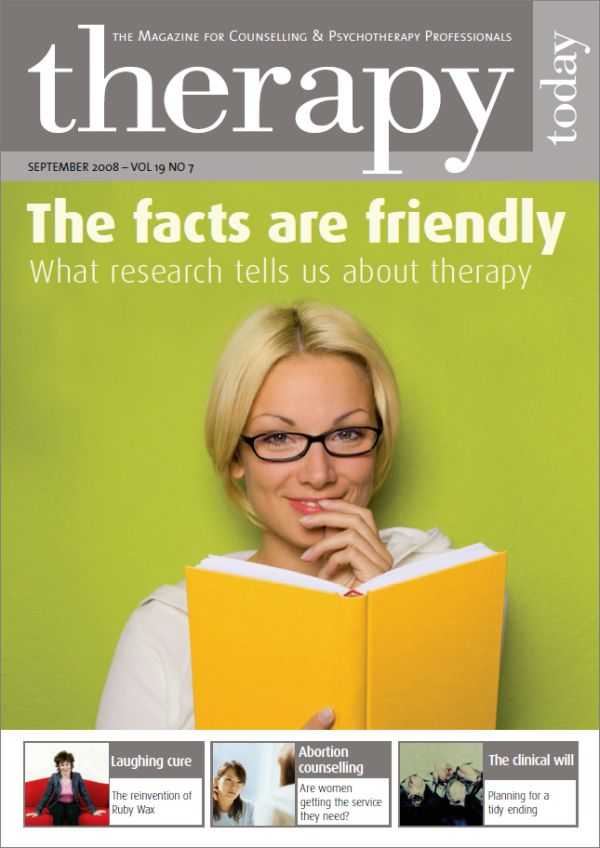 Cover of Therapy Today, September 2008