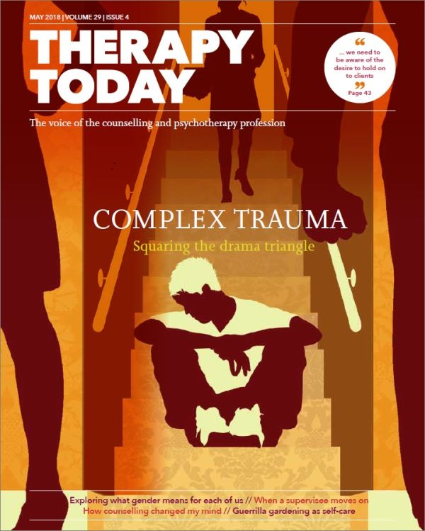 Cover of Therapy Today, May 2018