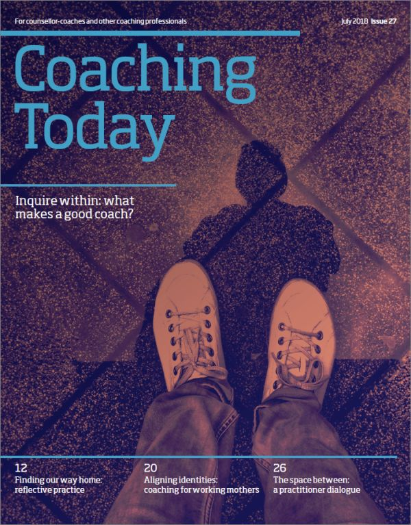 Cover of Coaching Today July 2018