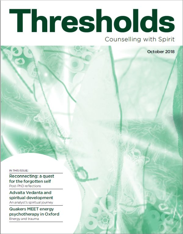 Cover of Thresholds October 2018