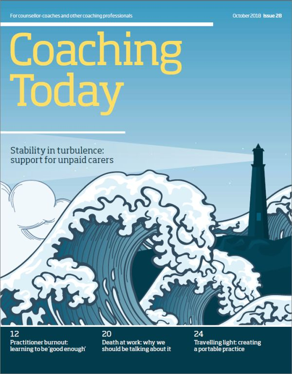 Cover of Coaching Today October 2018