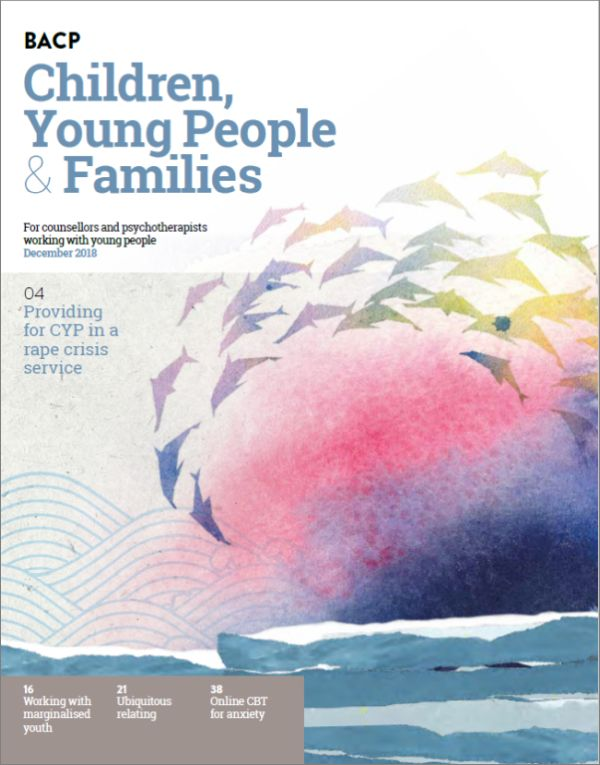 Cover of BACP CYPF, December 2018