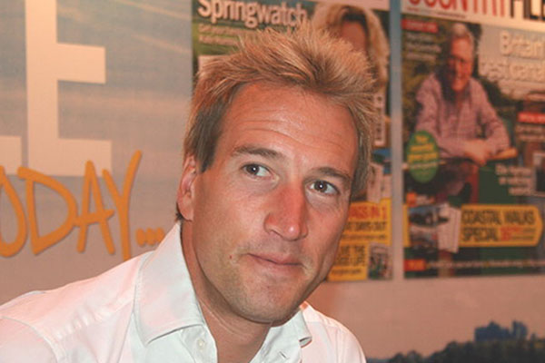 TV Presenter Ben Fogle