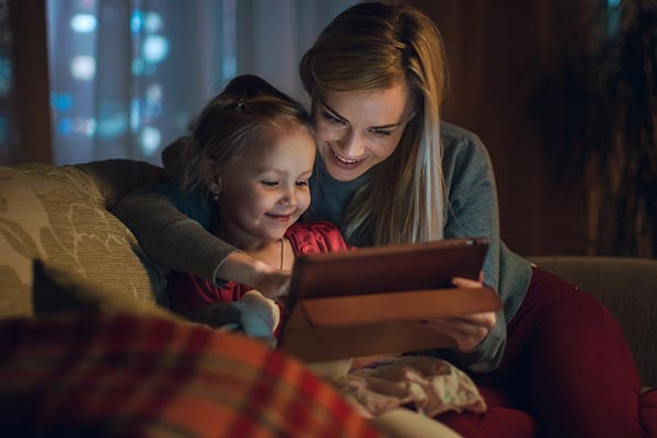 The RCPCH says its impossible to recommend age appropriate time limits for screen time for children.