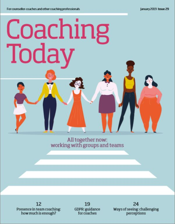 Cover of Coaching Today, January 2019