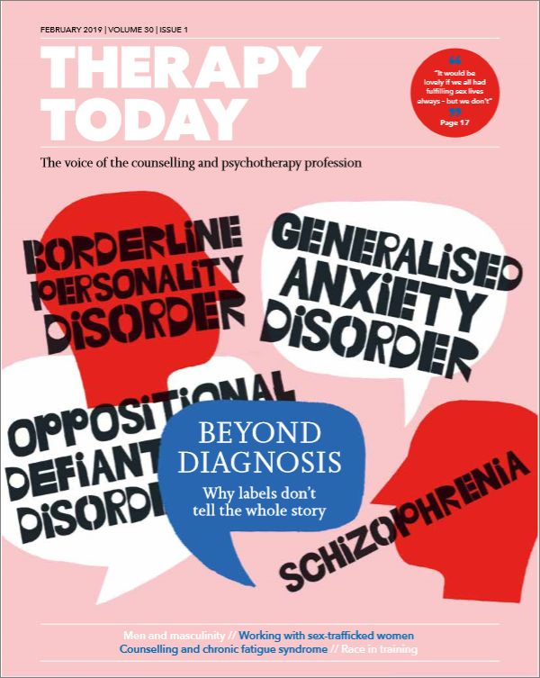 Cover of Therapy Today, February 2019