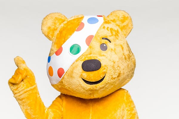BBC Children in Need's Pudsey Bear