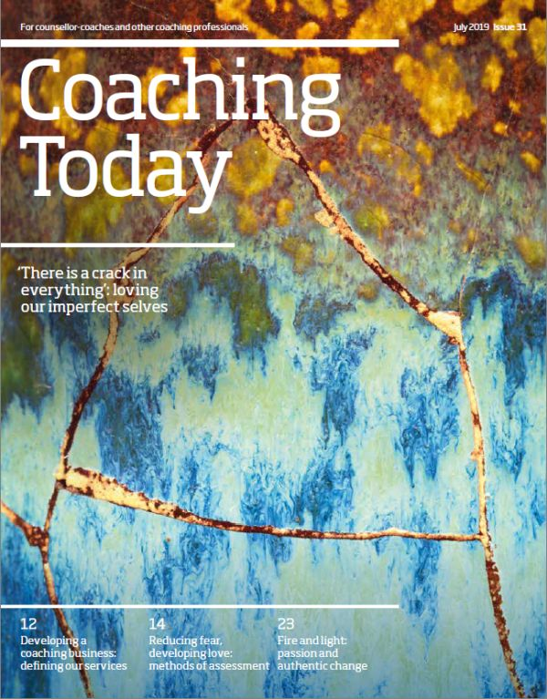Cover of Coaching Today, July 2019