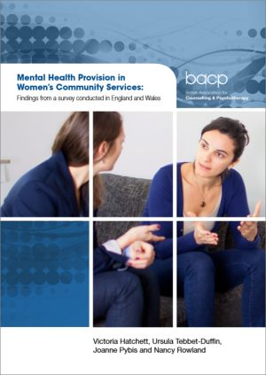 Cover of Mental health provision in women's community services